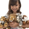 Adopt a Big Cat Cuddly Toy