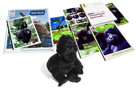 Adopt a Mountain Gorilla Gift Pack