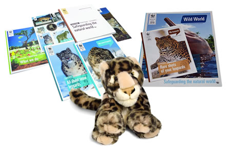 Adopt a Snow Leopard Gift Pack