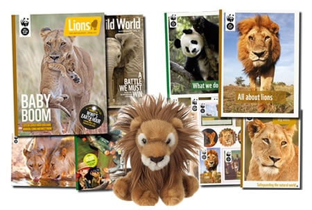 Adopt a Lion Gift Pack