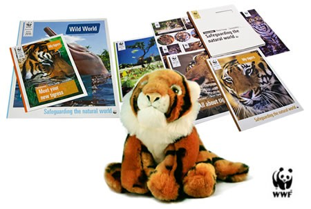 WWF Adopt a Tiger Gift Pack
